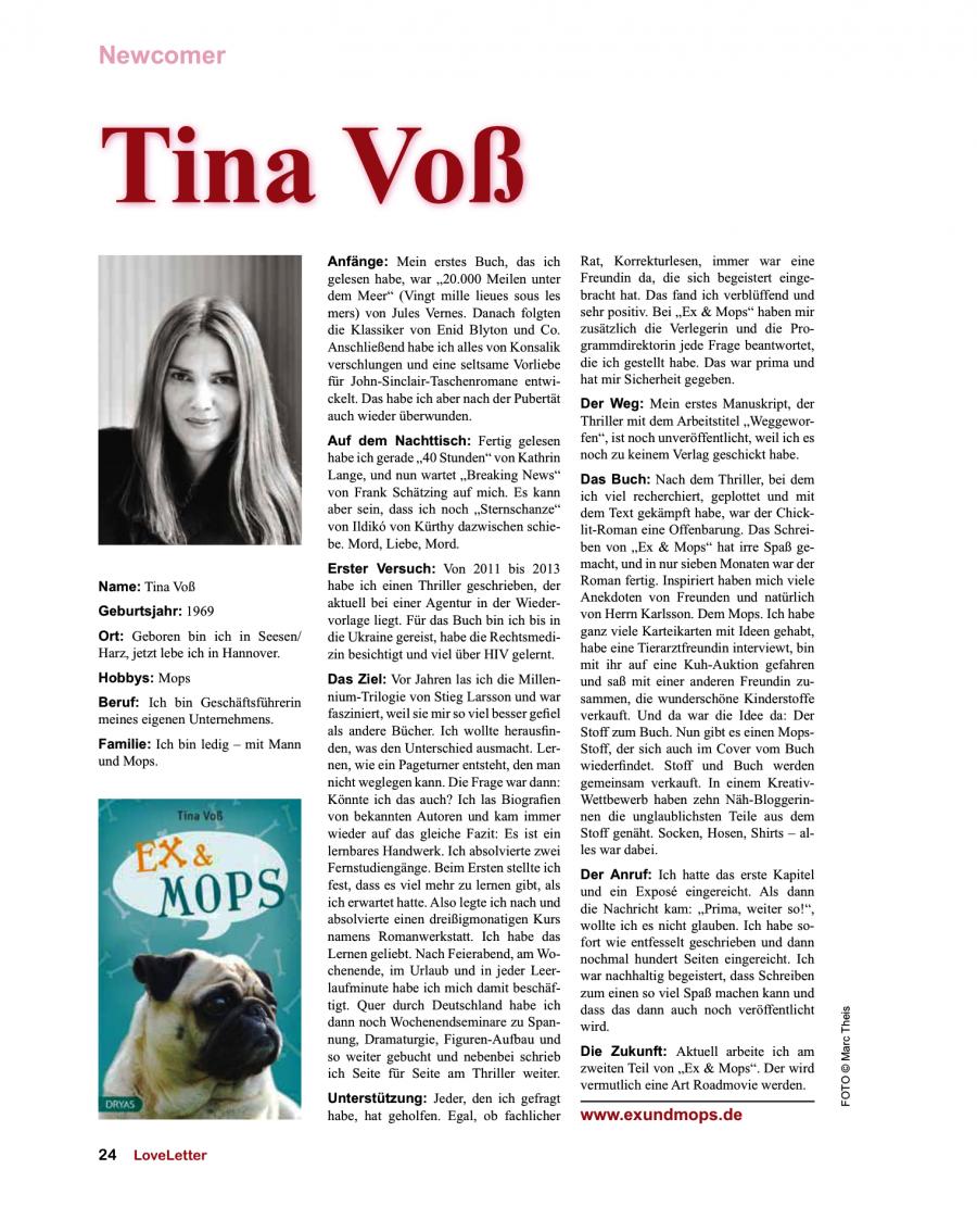Loveletter-Magazin Oktober 2014